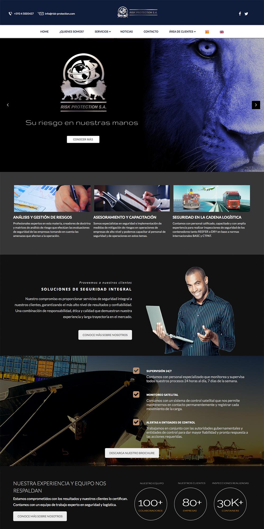 Risk protection ecuador pagina web