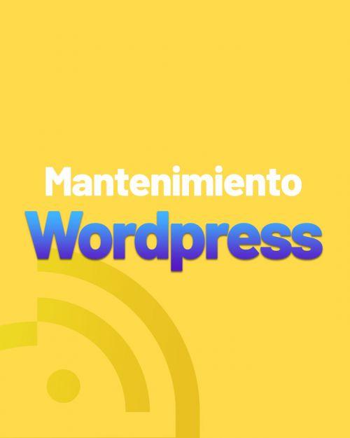 producto mantenimiento wordpress Mantenimiento de Sitios Web